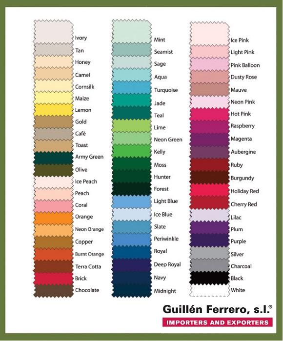 Colección de percales tintados en colorantes reactivos , en Algodón 100% 200 hilos.