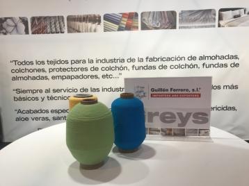 Guillén Ferrero, S.L. recibió numerosas visitas durante su asistecia a la feria de Zaragoza del mueble y descanso en su edición de 2018.