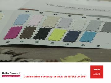 Guillén Ferrero, S.L. ha decidido asistir en la próxima edición de INTERZUM 2021 a celebrar en la ciudad de COLONIA en dos años.